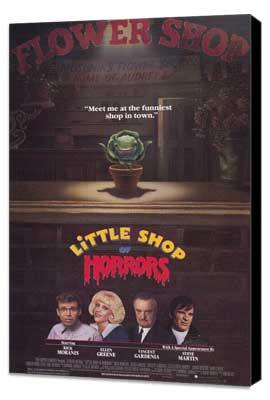 Little Shop of Horrors - 11 x 17 Movie Poster - Style A - Museum Wrapped Canvas