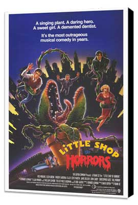 Little Shop of Horrors - 27 x 40 Movie Poster - Style B - Museum Wrapped Canvas