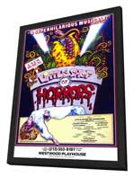 Little Shop of Horrors (Musical) - 11 x 17 Movie Poster - Style A - in Deluxe Wood Frame