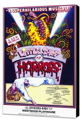 Little Shop of Horrors (Musical) - 11 x 17 Movie Poster - Style A - Museum Wrapped Canvas
