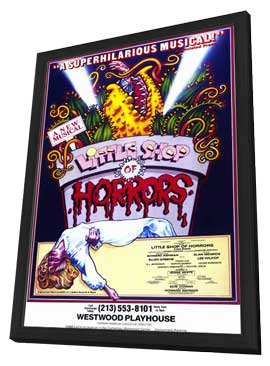 Little Shop of Horrors (Musical) - 27 x 40 Movie Poster - Style A - in Deluxe Wood Frame