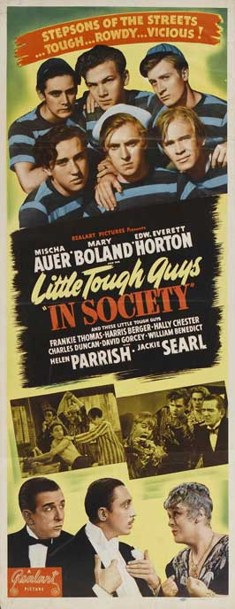 Little Tough Guy - 14 x 36 Movie Poster - Insert Style B