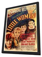 Little Women - 11 x 17 Movie Poster - Style A - in Deluxe Wood Frame