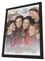 Little Women - 27 x 40 Movie Poster - Style B - in Deluxe Wood Frame