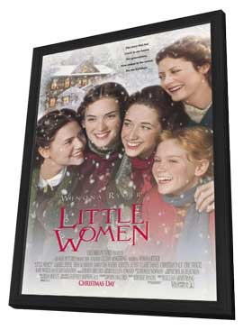 Little Women - 11 x 17 Movie Poster - Style B - in Deluxe Wood Frame