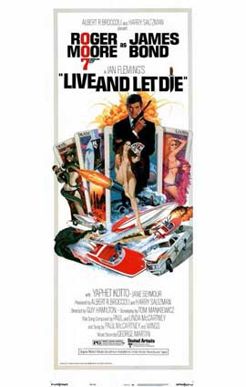 Live and Let Die - 11 x 17 Movie Poster - Style B