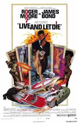 Live and Let Die - 11 x 17 Movie Poster - Style A