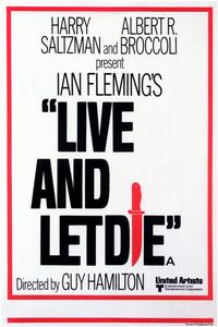 Live and Let Die - 11 x 17 Movie Poster - Style D