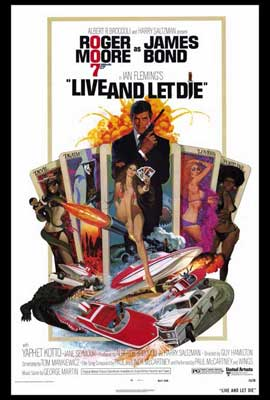 Live and Let Die - 27 x 40 Movie Poster - Style A