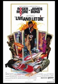Live and Let Die - 43 x 62 Movie Poster - Bus Shelter Style A