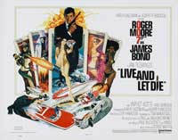 Live and Let Die - 30 x 40 Movie Poster - Style A