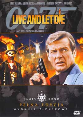 Live and Let Die - 11 x 17 Movie Poster - Polish Style A