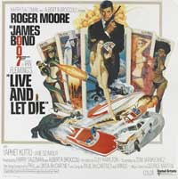 Live and Let Die - 30 x 30 Movie Poster - Style A