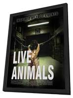 Live Animals - 27 x 40 Movie Poster - Style A - in Deluxe Wood Frame