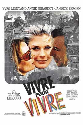 Live for Life - 11 x 17 Movie Poster - French Style A
