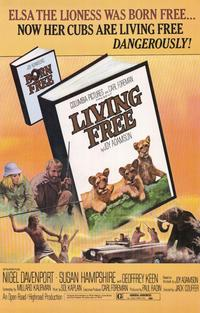 Living Free - 11 x 17 Movie Poster - Style A