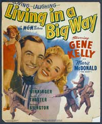 Living in a Big Way - 27 x 40 Movie Poster - Style A