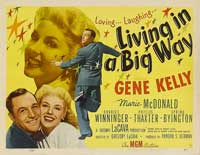 Living in a Big Way - 11 x 14 Movie Poster - Style A