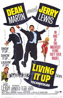 Living It Up - 11 x 17 Movie Poster - Style A