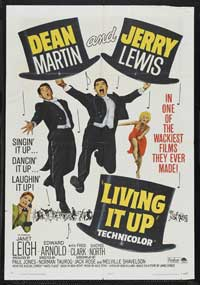 Living It Up - 43 x 62 Movie Poster - Bus Shelter Style A