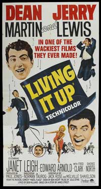 Living It Up - 41 x 81 3 Sheet Movie Poster - Style A