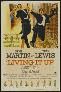 Living It Up - 11 x 17 Movie Poster - Style B
