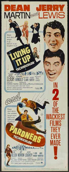 Living It Up - 14 x 36 Movie Poster - Insert Style A