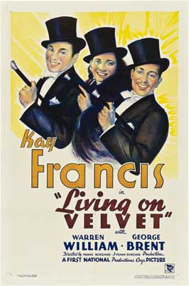 Living on Velvet - 11 x 17 Movie Poster - Style A