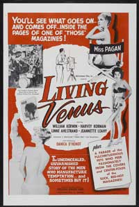 Living Venus - 43 x 62 Movie Poster - Bus Shelter Style A