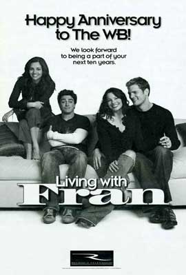 Living with Fran - 11 x 17 TV Poster - Style A