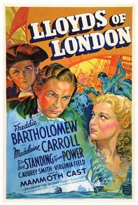 Lloyds of London - 27 x 40 Movie Poster - Style A