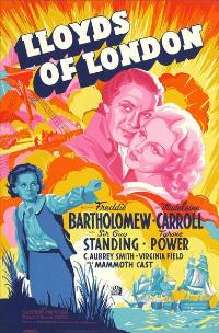 Lloyds of London - 27 x 40 Movie Poster - Style B