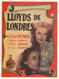 Lloyds of London - 27 x 40 Movie Poster - Spanish Style A