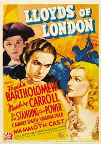 Lloyds of London - 11 x 17 Movie Poster - Style E