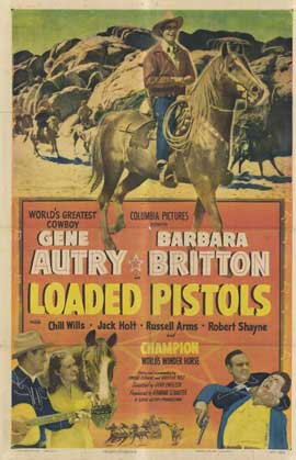 Loaded Pistols - 11 x 17 Movie Poster - Style A