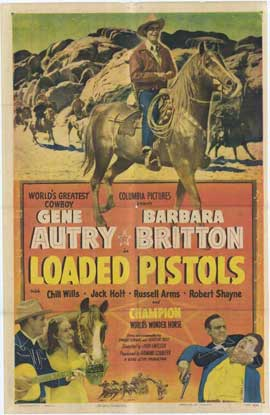 Loaded Pistols - 27 x 40 Movie Poster - Style A