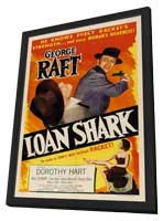 Loan Shark - 11 x 17 Movie Poster - Style A - in Deluxe Wood Frame