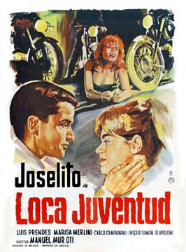 Loca juventud - 27 x 40 Movie Poster - Spanish Style A
