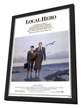 Local Hero - 11 x 17 Movie Poster - Style A - in Deluxe Wood Frame