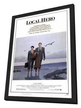 Local Hero - 27 x 40 Movie Poster - Style A - in Deluxe Wood Frame