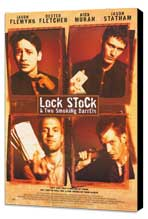 Lock, Stock and 2 Smoking Barrels - 27 x 40 Movie Poster - Style A - Museum Wrapped Canvas