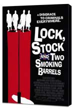 Lock, Stock and 2 Smoking Barrels - 27 x 40 Movie Poster - Style C - Museum Wrapped Canvas