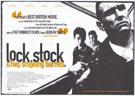 Lock, Stock and 2 Smoking Barrels - 11 x 17 Movie Poster - Style B