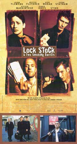 Lock, Stock and 2 Smoking Barrels - 11 x 17 Poster - Foreign - Style A