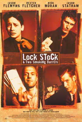 Lock, Stock and 2 Smoking Barrels - 27 x 40 Movie Poster - Style A