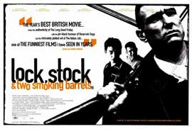 Lock, Stock and 2 Smoking Barrels - 27 x 40 Movie Poster - Style B
