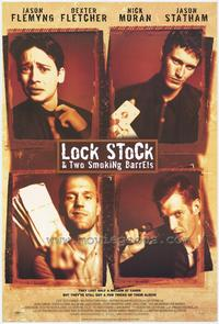 Lock, Stock and 2 Smoking Barrels - 43 x 62 Movie Poster - Bus Shelter Style A