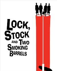 Lock, Stock and 2 Smoking Barrels - 11 x 17 Movie Poster - Swedish Style A