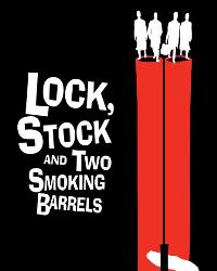 Lock, Stock and 2 Smoking Barrels - 27 x 40 Movie Poster - Swedish Style B