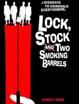 Lock, Stock and 2 Smoking Barrels - 11 x 17 Movie Poster - UK Style A